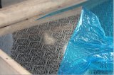 Feuille gravée en relief par Kem002 d'acier inoxydable de la qualité 201