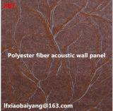 Placa acústica de fibra de poliéster, material de absorção de som Absorvente Painel acústico Painel de parede Painel de teto Painel de detetive