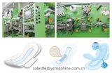 500PCS/Min de Machine van Maandverbanden voor U door Kotex Cleanwear de Uiterst dunne Servetten van Vrouwen