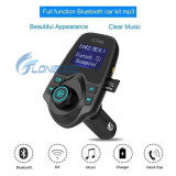 Горячий новый 1.44 '' USB водить радиоего 2 индикации беспроволочных поручая передатчик MP3 Bluetooth FM для автомобиля