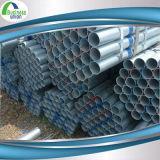 Tubo de acero del hierro de /Galvanized del tubo del galvanizado Gi/Seamleaa