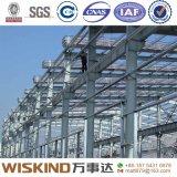 Almacén de la estructura de acero de China con la pared y la azotea