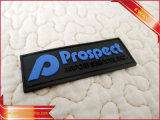 Chaussures Rubber Silicone Label Soft 3D Sewing PVC Patch