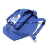 Рециркулированный мешок холстины, мешок плеча, мешок хлопка, хозяйственные сумки