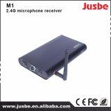 M1 récepteur optique de passe simple sans fil du microphone 2.4G pour la salle de classe