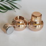 Elektrische Erschütterung-Luxuxmassage-Acrylsahneglas für Kosmetik (PPC-NEW-112)