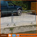 Barrière augmentée enduite par poudre de contrôle de foule de sûreté