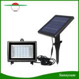 30のLEDの太陽動力を与えられた洪水ライト再充電可能なセンサーのスポットライトの屋外の庭ランプを防水しなさい