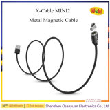 Кабель 2 магнитный данным по X-Кабеля Wsken миниый для микро- кабеля USB /iPhone магнитного