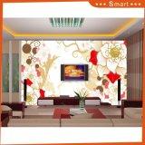 Het hete Verkoop Aangepaste 3D Olieverfschilderij van het Ontwerp van de Bloem voor de Decoratie ModelNr van het Huis.: Hx-5-046
