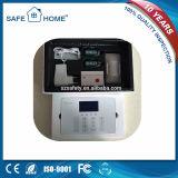 Sistema de alarma de la seguridad casera del G/M de la pantalla táctil del LCD con la salvaguardia de batería (SFL-K5)