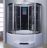 1500mm Secteur Steam Sauna avec Jacuzzi et Tvdvd (AT-GT0907)
