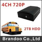 720p 4CH 3G 4G GPS WiFi Auto DVR Mdvr
