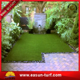 Landschaftsgestaltung synthetischer Rasen-Gras-Rasen-des dekorativen künstlichen Gras-Rasens für Garten