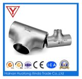 T senza giunte dell'accessorio per tubi del tubo e dell'acciaio inossidabile