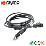 Raymo conector impermeable del socket circular de 103 series