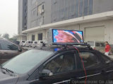 P5 Outdoor Mobile LED Display Screen auf Taxi Roof mit Full Color