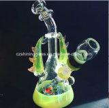 Späteste bunte gute Funktions-rauchendes Glaswasser-Rohr Czs-S25