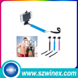 Bluetoothシャッターボタンと拡張可能なBluetooth携帯用小型Selfieの棒