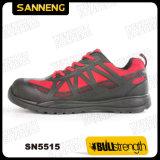 Zapato de seguridad del alumbrador del estilo del deporte con la punta compuesta (SN5515)