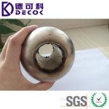 Bola magnética pulida espejo de la depresión del metal del flotador del acero inoxidable para el flotador de la válvula