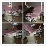 Ag-S104A met de Chirurgische Lichte Ce&ISO Goedgekeurde Draagbare Stoel van het Onderzoek van de Gynaecologie