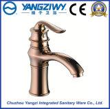 Yz5008 de bronze escolhem o Faucet da bacia do punho para o banheiro