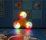 Girador da inquietação do brinquedo da inquietação do girador da mão do diodo emissor de luz do girador da inquietação do diodo emissor de luz