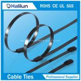 Neues Art Kurbelgehäuse-Belüftung beschichtete SS-Kabelbinder-Kugel-Verschluss-Reißverschluss-Gleichheit