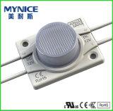Solo módulo IP65 del poder más elevado de la viruta LED para el rectángulo de la muestra