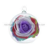 結婚式の装飾のための明確な円形のハングのガラスつぼのびん