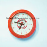 Вставка часов металла подарка промотирования с движением японии (34.5mm)