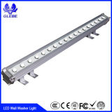 12W de baixa voltagem IP65 LED Outdoor Wall Washer Light