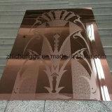 装飾的なステンレス鋼シートの管PVDのチタニウムのコータ