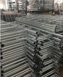 Gerade Stahl-/Aluminiumgestell-Jobstepp-Strichleiter für Ringlock