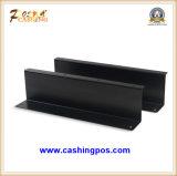 Cajón de la caja registradora los periférico de la posición con la taza de la moneda de la bandeja del efectivo