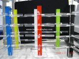 명확한 아크릴 색안경 진열대 Btr E1007