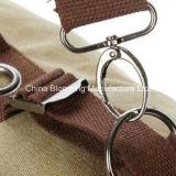 El recorrido de moda clásico del diseño arropa el bolso de tela de lana basta del hombro del morral del almacenaje