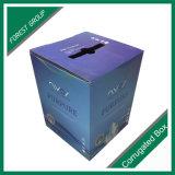 Plastikgriff-Papppapier-Verpackungs-Kasten