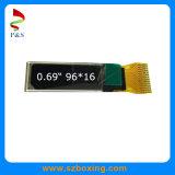 Monochrome индикация 0.69inch 96*16 OLED, белый цвет