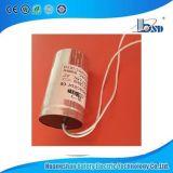 Condensadores de la lámpara Cbb80/de la iluminación con la tuerca 250V-450V 50/60Hz