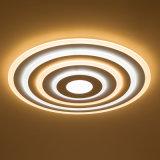 Éclairage moderne de pièce de plafond de la série DEL de type de fleuve argenté