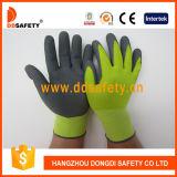 Nylon-Polyester-Zwischenlage-Latex-Windung-Schaumgummi-Handschuh Dnl418
