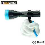 A lâmpada 1000lumens máximo do mergulho do diodo emissor de luz do CREE de Hoozuh D10 Waterproof 100meters