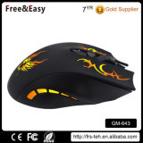6D Ergonomique Optique Wired LED Gaming Mouse