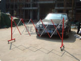 Barricade durable se pliante d'acier de barrière en métal