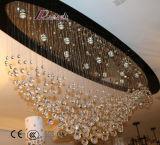 Европейский канделябр конструкции K9 кристаллический для проекта гостиницы