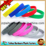 Wristband colorido do silicone da impressão com Thb-009