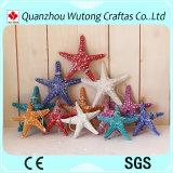 Estrellas de mar hermosas hechas a mano de la resina de diversos colores