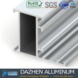 Profil en aluminium en aluminium de la Libye pour l'ODM d'OEM de porte de guichet